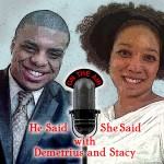 "Catch Lenny McAllister's interview on ""He Said She Said with Demetrius and Stacy"" on December 19, 2012"