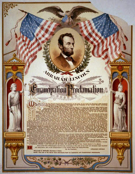 The Emancipation Proclamation went into effect January 1, 1863. Read Lenny McAllister's call to action 150 years later.