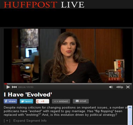 HuffPostLive April 9 2013