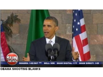 Obama Sun News Network May 5 2013