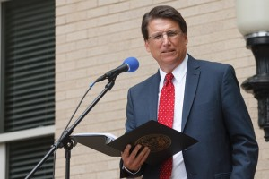 Pat McCrory August 2013