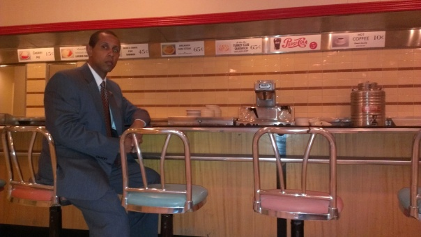 Lenny at Greensboro Counter June 2013