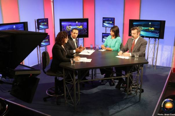 "Lenny McAllister talks with the Get To The Point Panel (Dr. Sevin Yeltekin, Dr. Antony Davies, and Allegheny County Councilwoman Amanda Green Hawkins) about the social and economic disconnects impacting the nation on the December 12 version of ""NightTalk: GTTP"" (on the Pittsburgh Cable News Channel Fridays at 8pm)."