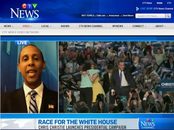 Political commentator and former RNC consultant Lenny McAllister discusses Chris Christie's bid for the 2016 White House during this segment on Canada's CTV.